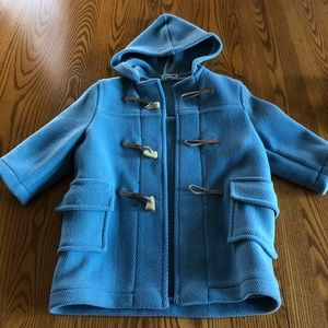 Cashmere Cause kids hooded toggle coat